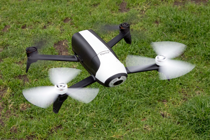 parrot bebop  fpv review