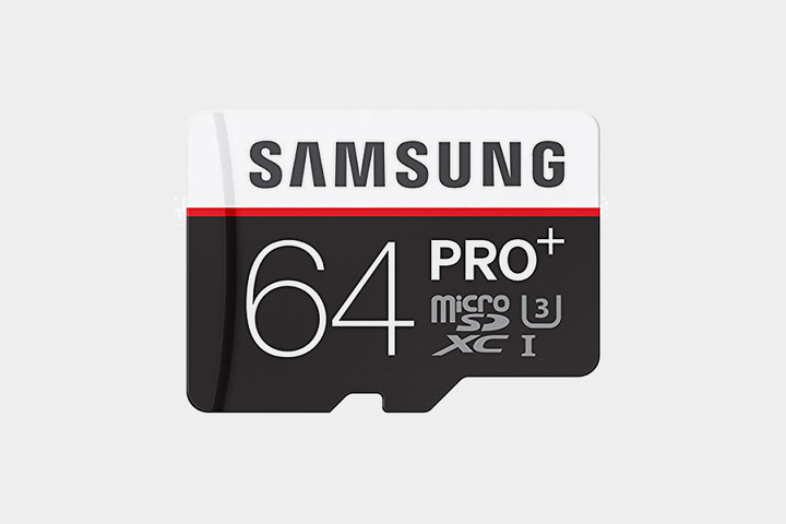 Samsung Pro Plus 64GB MicroSDXC Card
