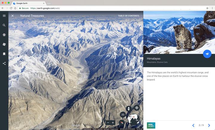 Google Earth New