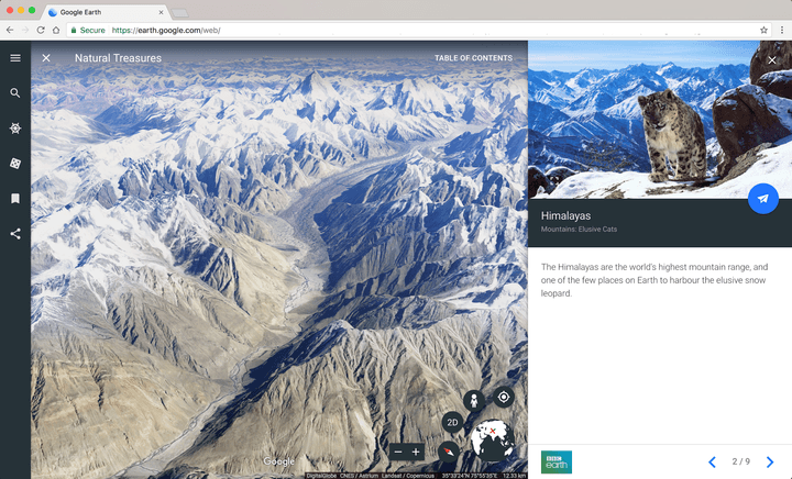 Google Earth New