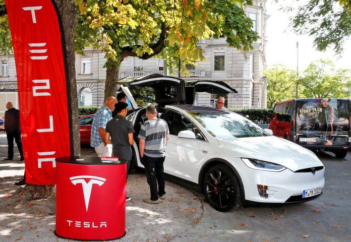 Tesla recalls 53,000 vehicles for potential parking brake issue