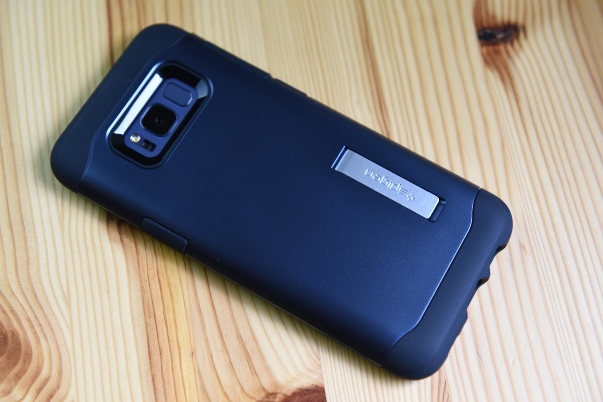 new arrival dd0f6 5c9d3 We wrapped the Galaxy S8 in Spigen's newest cases, and found there's ...