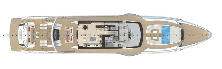superyacht aurora millennial buyer rossinavi fr  disegni tecnici