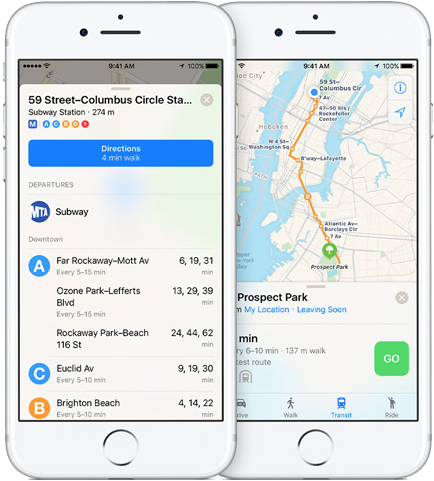 Apple Maps Hints at Transit Directions Expanding in United States, Australia, Canada, and Europe