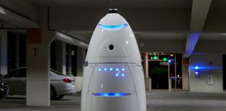 Meet the 400-pound robots that will soon patrol parking lots, offices, and malls