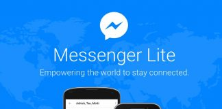 Facebook's Messenger Lite expands to 132 more countries