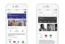 Google Adds Media Content Links to Mobile Web and Google App Search Results
