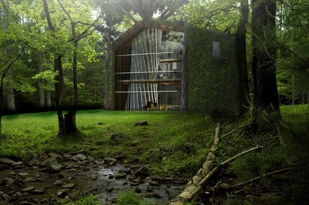 No trees were harmed in the designing of this eco-friendly treehouse