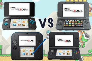 Nintendo 2DS XL vs 2DS vs 3DS vs 3DS XL: What's the difference?