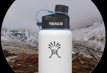 The Trago bottle cap tracks your water intake to make sure you're hydrated
