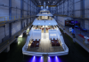 Newly launched Heesen superyacht, Home, runs silently up to 9 knots