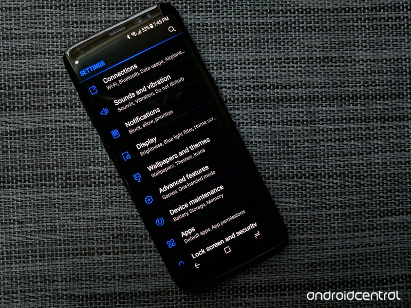 The Many Many Ways Of Theming Your Samsung Galaxy S8 Aivanet