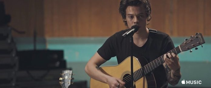 Apple Music to Share Exclusive Film About 'Harry Styles' Album Next Week
