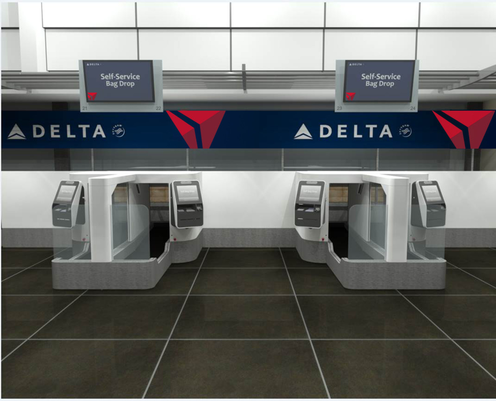 Delta is Testing Facial Recognition Technology, Plans First Biometric-Based Self-Service Bag Drop in U.S. (PRNewsfoto/Delta Air Lines)