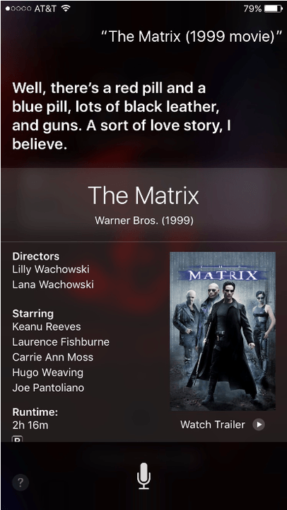 funny questions to ask siri what is the matrix about