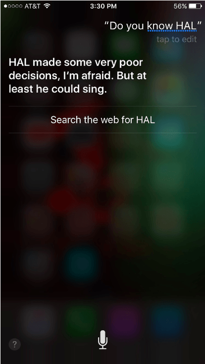 funny questions to ask siri  hal