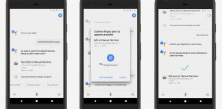 Soon you'll be able to pay friends by saying 'Ok Google'