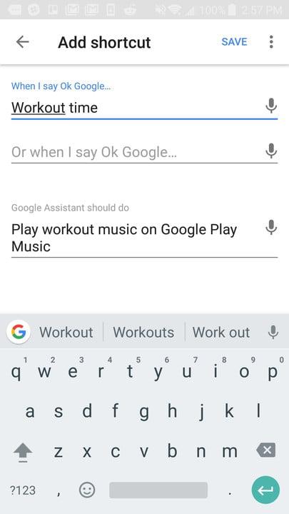 google home shortcuts guide screenshot