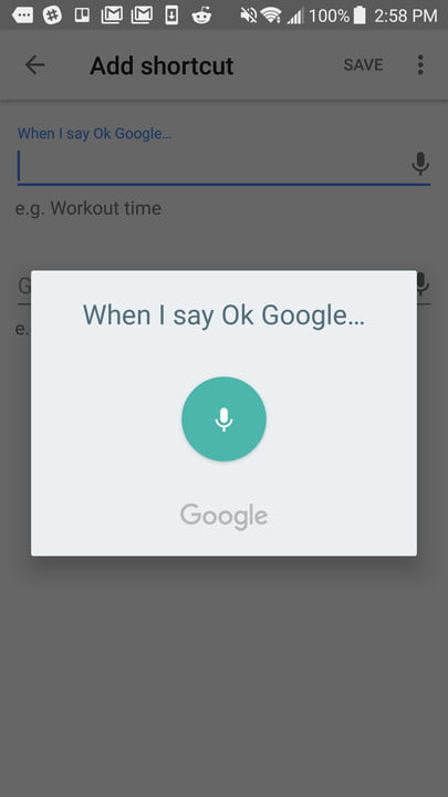 google home shortcuts guide screenshot