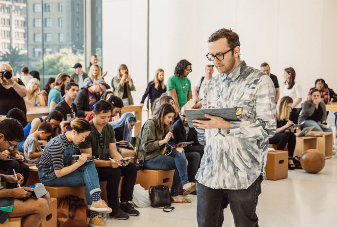 'Today at Apple' Launch Celebrated With Images Taken From Music, Drawing, and Photography Sessions