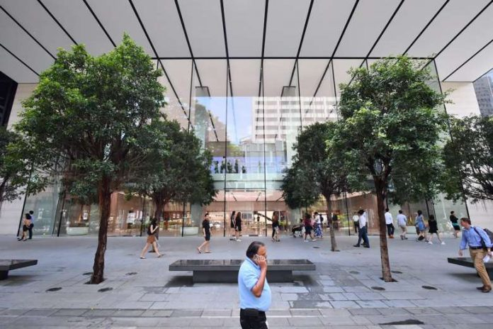 Interior of 'Apple Orchard Road' in Singapore Unveiled Ahead of Grand Opening