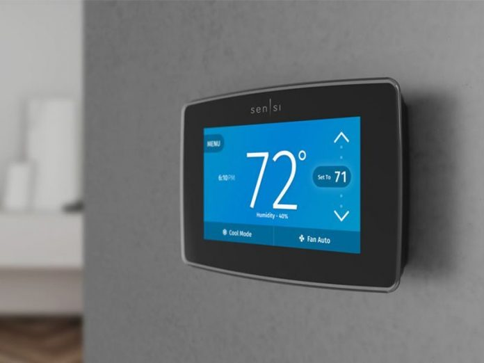Emerson Announces HomeKit-Compatible Sensi Thermostat With Touchscreen
