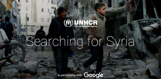 Google and the UN answer Syria queries with a poignant website