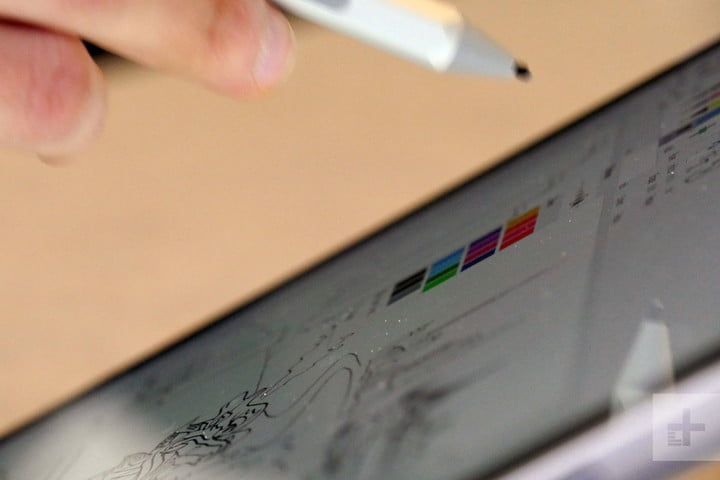 surface pro  hands on review microsoft and pen