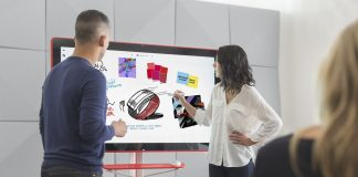 Google's $5,000 4K digital whiteboard goes on sale
