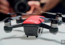 DJI's palm-sized Spark drone delivers epic selfies