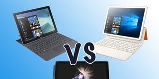 Microsoft Surface Pro vs Huawei MateBook E vs Samsung Galaxy Book: Battle of the 2-in-1s