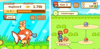 Magikarp Jump Launches as Latest Pokémon Game for iPhone and iPad