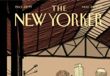 This Week's Cover of 'The New Yorker' Was Sketched on an iPad