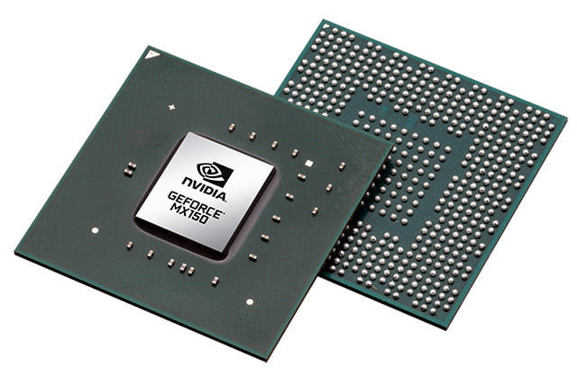 Nvidia claims its MX150 is four times faster than onboard graphics chips
