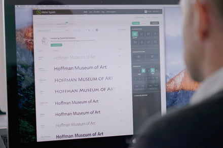Adobe partners with design firm to bring iconic typefaces to Creative Cloud