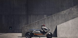 BMW's latest motorcycle concept links futuristic style and tech