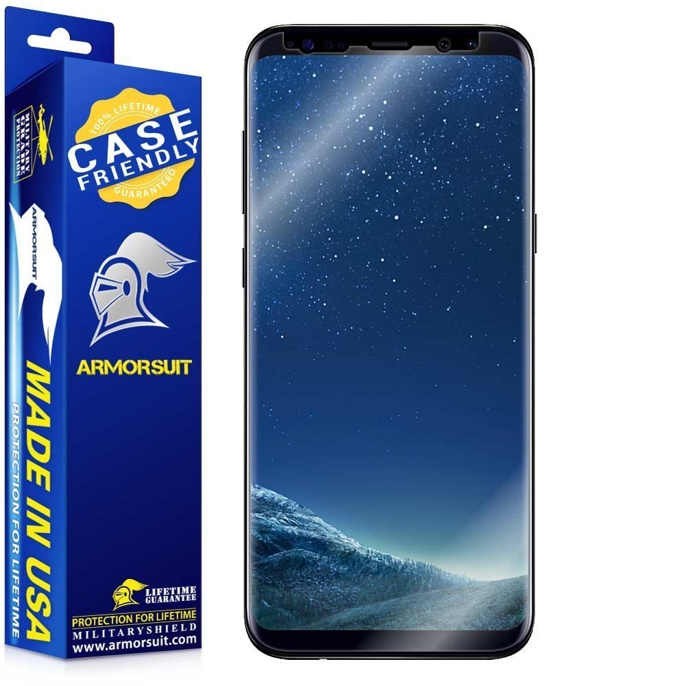 uk availability e57c8 bf06b Best Case-friendly Screen Protectors for Samsung Galaxy S8 - AIVAnet