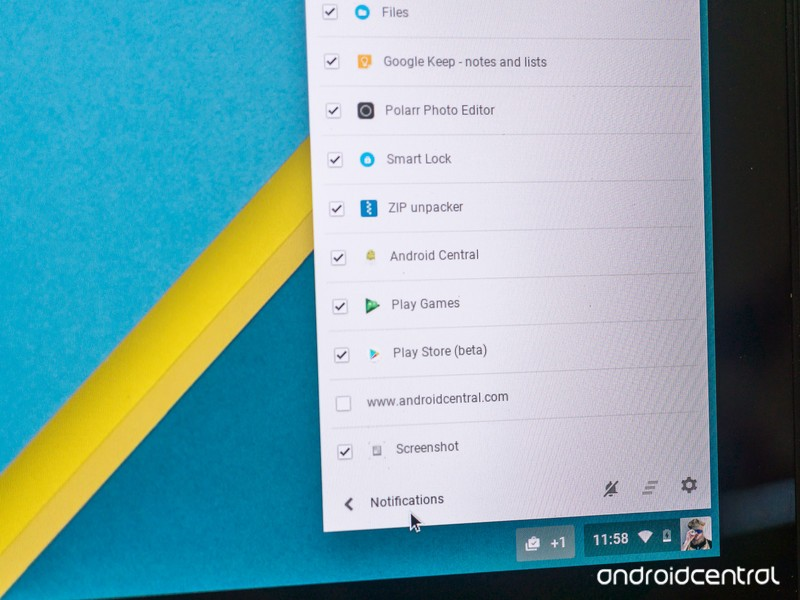 how to clear all chrome notifications