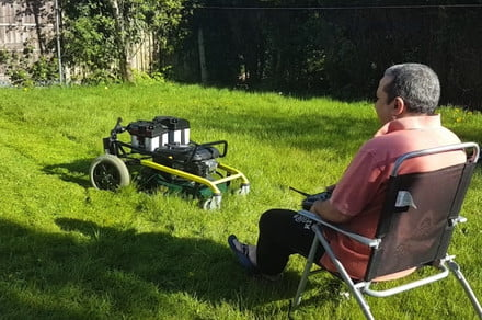 Ingenious RC Lawn Mower Lets You Trim Your Grass Without Leaving Your Chair