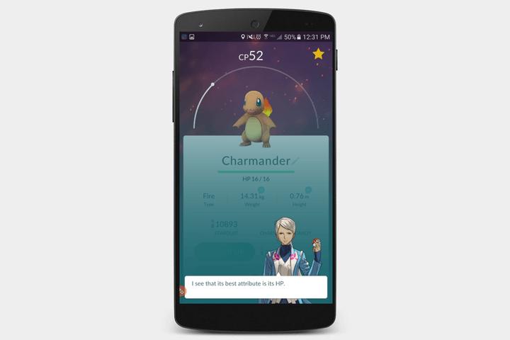 pokemon go screen 5