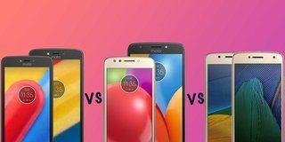 Motorola Moto C vs Moto E4 vs Moto G5: Which budget Moto phone is right for you?