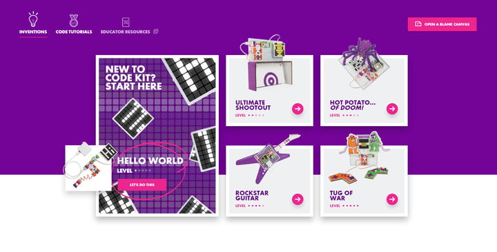 littlebits code kit review app