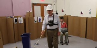 Wearable system with 3D camera makes visually impaired people more mobile