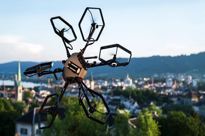 voliro versatile drone candid