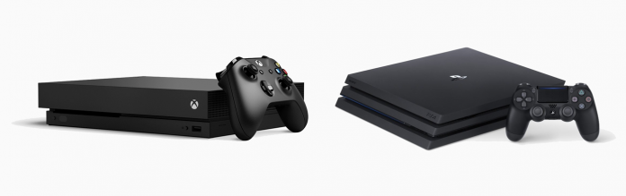 The Xbox One X vs. the PlayStation 4 Pro: 4K and more