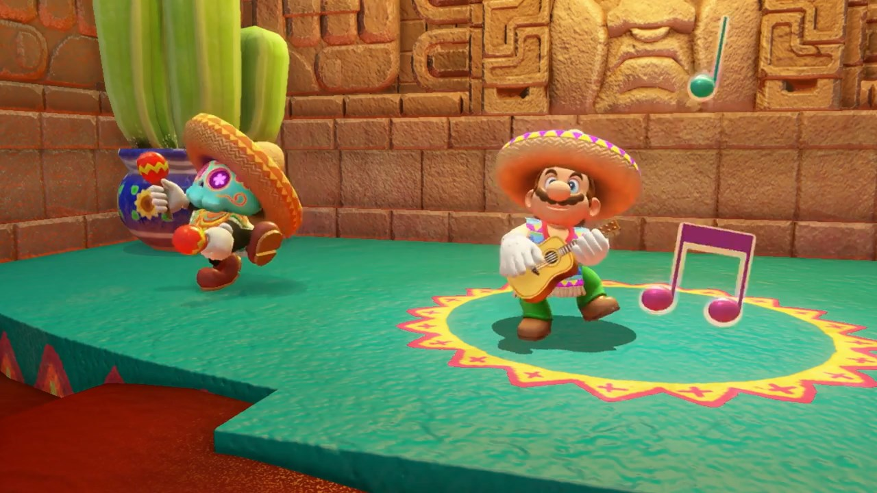 """42ef2eda All of these costume changes, retro action and magic hat business serve to  support the traditional """"3D Mario"""" gameplay: exploring vast worlds and  collecting ..."""