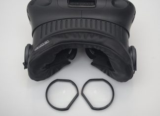 How to put prescription lenses in your VR headset