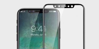 Leaked iPhone 8 Screen Protector Includes Reduced Bezels and Front-Facing Camera Cutout