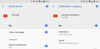 All about Android O's Notification Channels