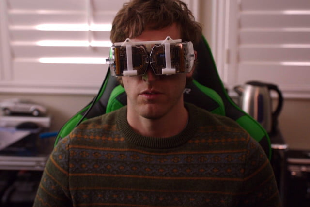 The VR goggles seen in HBO's 'Silicon Valley' are a real prototype